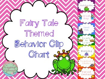 Fairytale Themed Behavior Chart