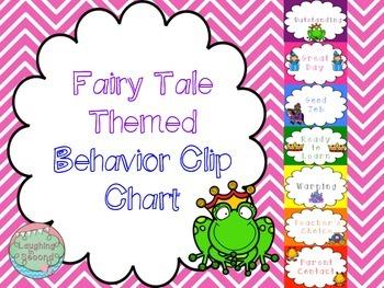 Fairytale Themed Behavior Chart