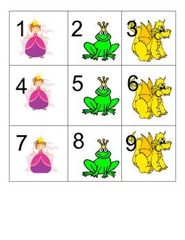 Fairy Tale Themed Calendar Pieces
