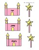 Fairy Tale Themed Castle and Wand Parts of Speech Matching Game