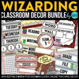 Wizarding Theme Classroom Decor