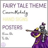Fairy Tale Themed Curwen/Kodaly Hand Sign Posters