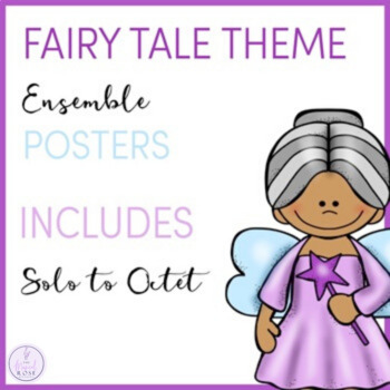 Fairy Tale Themed Ensemble Posters