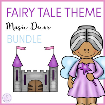Fairy Tale Themed Music Classroom Decor Bundle