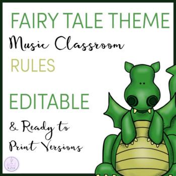 Fairy Tale Themed Music Rules