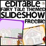 Fairy Tale Themed Slideshow Presentation Editable - just add text