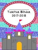 Fairy Tale Themed Teacher Binder