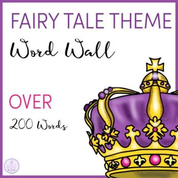 Fairy Tale Themed Word Wall