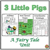 The Three Little Pigs:Activities and Comprehension