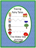 Tracing Activities,Tracing Lines, Fine Motor Skills, Fairy Tales Tracing