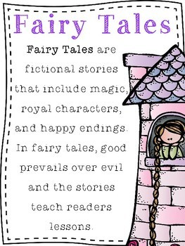 Fairy Tales Unit: Readers Theater and Literacy Activities