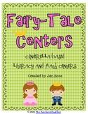 Fairy Tale Unit: Cinderella Based Math Centers