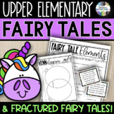 Fairy Tale Unit for Upper Elementary - Fairy Tale Elements & Fractured Tales