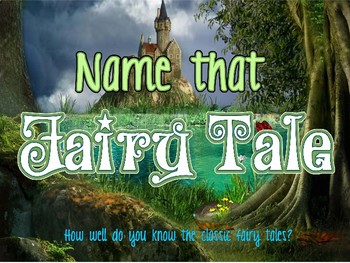 Fairy Tale Unit Introduction Game