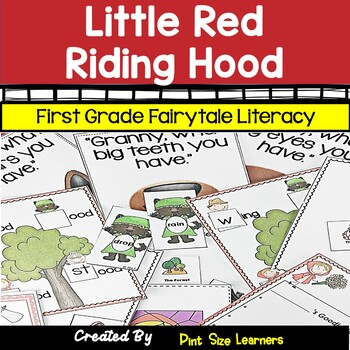 Fairy Tale Unit Little Red Riding Hood First Grade Literacy