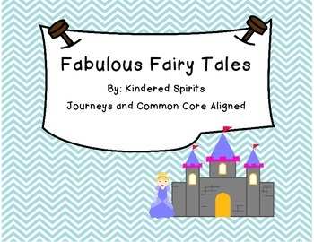 Fairy Tale Unit: Math, Literacy, and Writing Centers