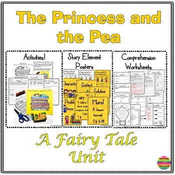 Fairy Tale Unit: The Princess and the Pea