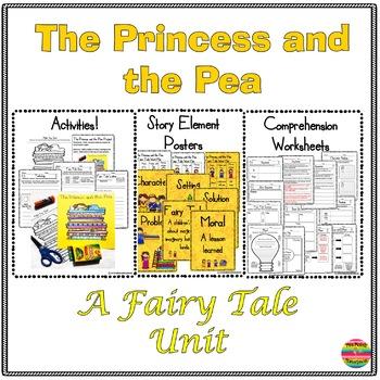 The Princess and the Pea:  A Fairy Tale Mini Unit