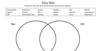 Fairy Tale Unit - STEM & Stereotypes