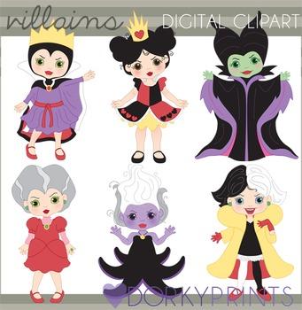 Fairy Tale Villain Clip Art