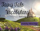 Fairy Tale Vocabulary