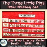 The Three Little Pigs: Vocabulary Sort