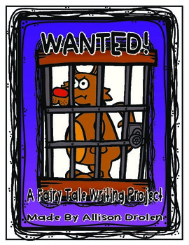 Fairy Tale Wanted Poster Project!