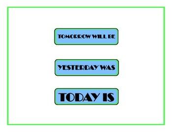 Fairy Tale Weekday Chart! Fairy Tale Bulletin Board! Fairy Tale Theme!