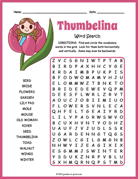 Fairy Tale Word Search BUNDLE by Puzzles to Print | TpT