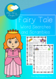 Fairy Tale Word Searches and Scramble