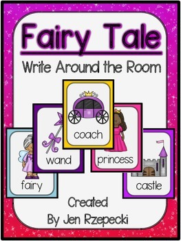 Fairy Tale Write Around the Room