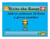 Fairy Tale Write the Room Add or Subtract 10