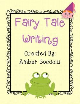 Fairy Tale Writing Activity