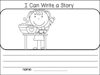 Fairy Tale Writing Center - Goldilocks and the Three Bears