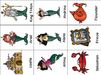 Fairy Tale Writing Center - Mermaids