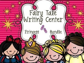 Fairy Tale Writing Center Bundle # 2 - Princesses