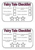 Fairy Tale Writing Checklist