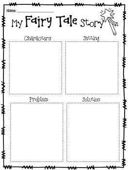 Fairy Tale/Fantasy Writing
