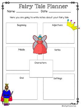 Fairy Tale Writing Freebie