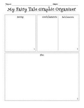 Fairy Tale Writing Graphic Organizer