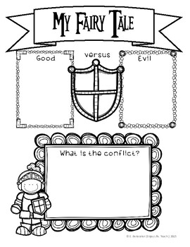 Fairy Tale Writing Packet