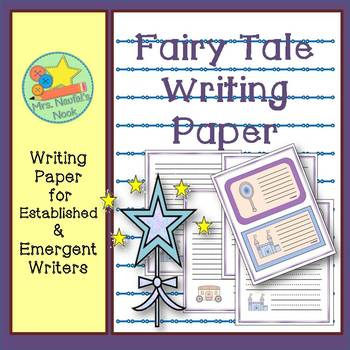 Writing Paper Templates - Fairy Tale Theme