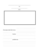 Fairy Tale Writing (Story Frame)