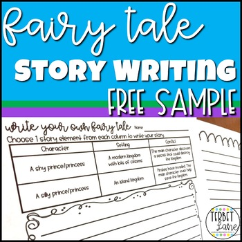 Fairy Tale Story Writing Worksheets Free Sample