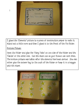 Fairy Tale and Fable Center Game