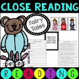 Common Core Fairy Tale and Fable Close Reading