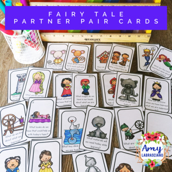 Fairy Tale and Folktale Partner Pairing Cards