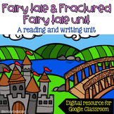 Fairy Tale and Fractured Fairy Tale Unit - DIGITAL - DISTANCE LEARNING