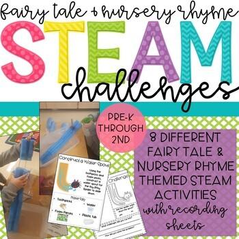 Fairy Tale and Nursery Rhyme STEM & STEAM Activities