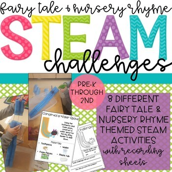 Fairy Tale and Nursery Rhyme STEM & STEAM Activities